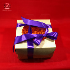 Коробка подарочная 16х10х16 1