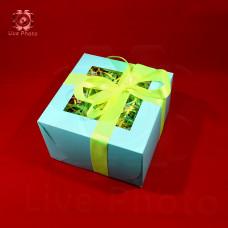 Коробка подарочная 16х10х16 2