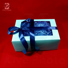 Коробка подарочная 16х10х16 3